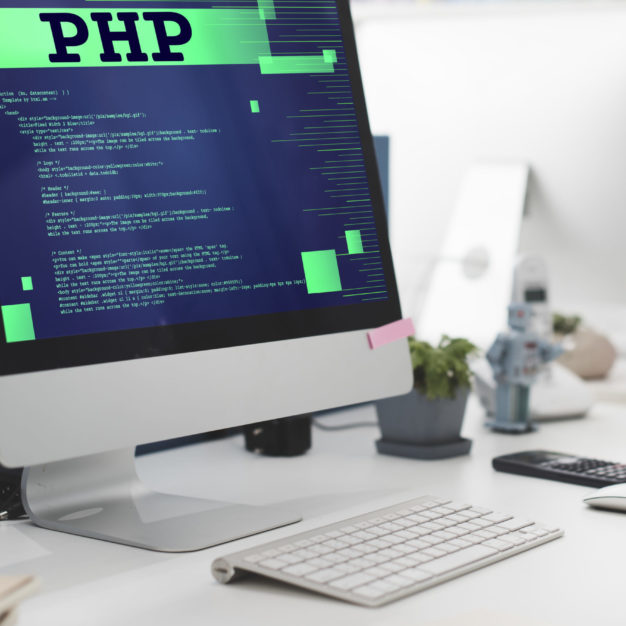 PHP Coding Computer CSS Data Digital Function Concept